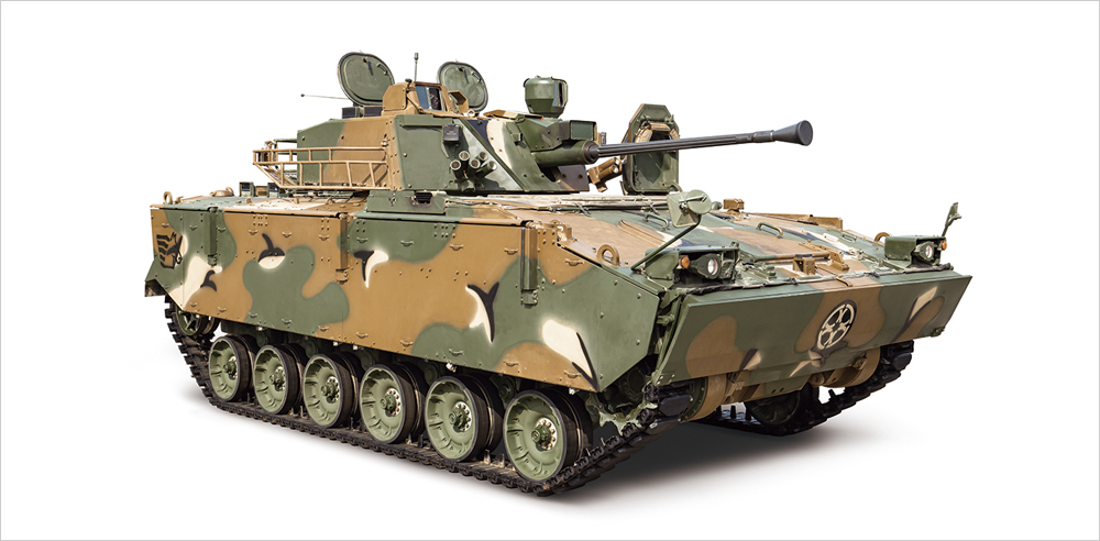 K21 | Armored Vehicles | Our Business | Hanwha Defense